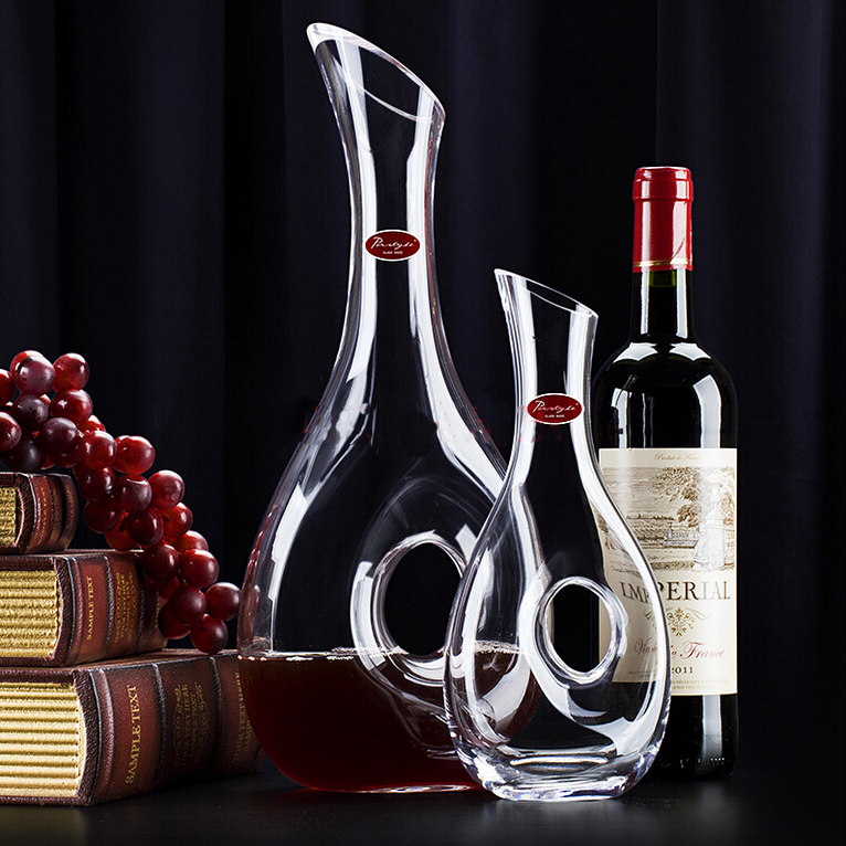 Crystal wine decanter snail design style decanter fashion for What is wine decanter