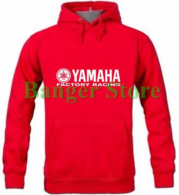 bcafdf206 YAMAHA logotipo pullover camisolas do hoodie das mulheres e homens de  algodão com capuz