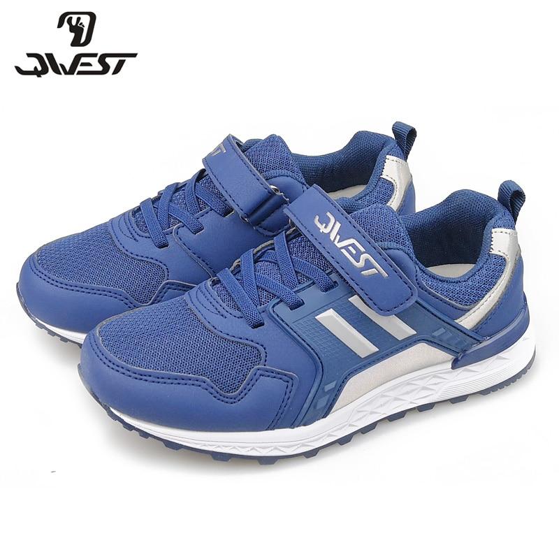 QWEST ruso marca ocio deportes zapatos gancho & bucle exterior niños zapatillas de deporte para niño tamaño 32-38 envío gratis 91K-NQ-1269