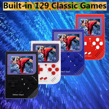 Video Game Retro Mini Handheld Video Game Console Gameboy Built-in 129 Classic Games Best Gift for Child Nostalgic Player Puzzle