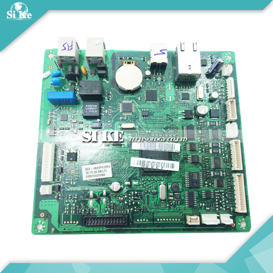 Laser Printer Main Board For Samsung SCX-4623FN SCX 4623FN 4623 Formatter Board Mainboard Logic Board laser printer main board for samsung scx 4100 scx 4100 scx4100 formatter board mainboard logic board