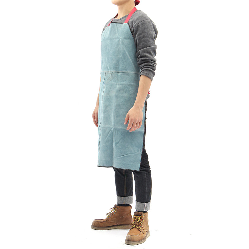 Cheap Sale Welding Apron Work Protective Clothing Dustproof Uniform Apron Safety Fire-retardant Insulation Split Cow Leather Special Summer Sale Candles & Holders