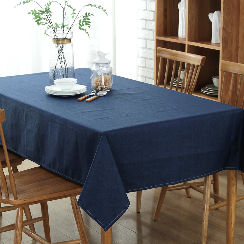 Rectangle Waterproof Tablecloth Dinner Table Cloth For Kitchen Home - Decorative table pads