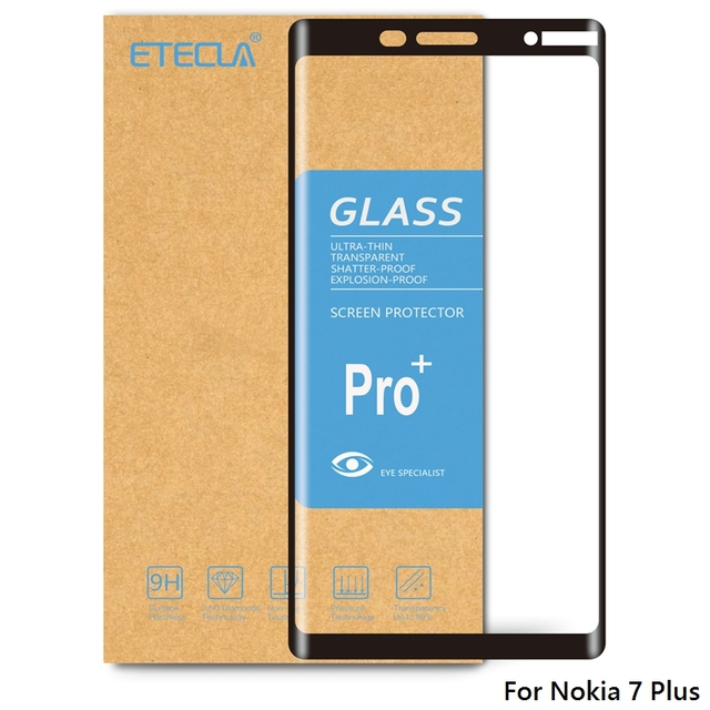 For Nokia 7 Plus Tempered Glass Nokia 7 Plus Glass On For Nokia 7plus Screen Protector  9h Hardness Protective Tempered Glass
