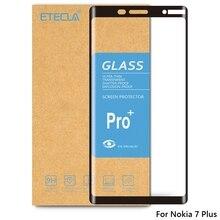 Para nokia 7plus vidro temperado nokia 7 mais vidro em para nokia 7 mais protetor de tela dureza 9h vidro temperado protetor