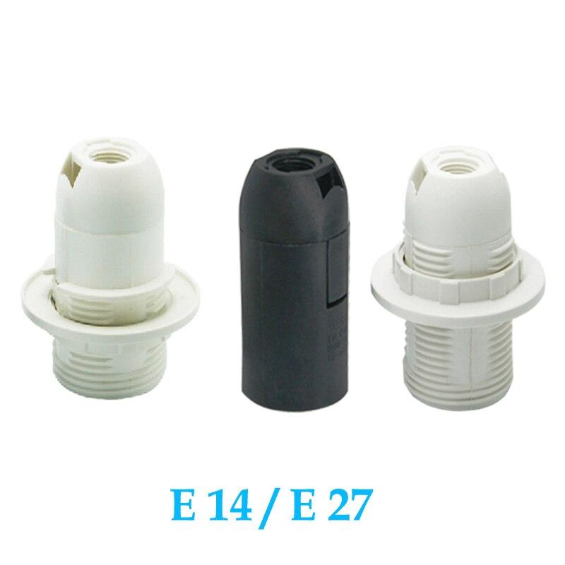 10PCS/Lot lighting accessories E14 E27 lamp holder Holder accessori Lamp socket luminaire lampholder flexible 4A 110V 220V freeshipping 10pcs lot 2n6075ag thyristor triac 4a 600v to 126 2n6075ag 6075 2n6075 2n6075a 6075a n6075