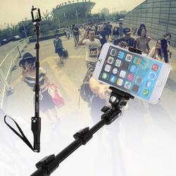 With bluetooth remote shutter original yunteng extendable gopro selfie stick 50 monopod for samsung s7 s6.jpg 250x250