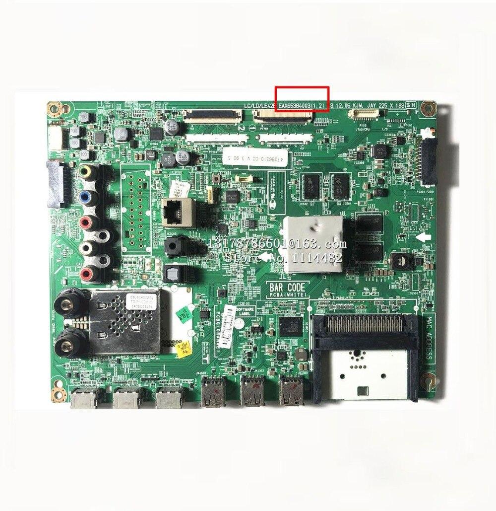 EAX65384003/4/5(1.2) carte logique | Bon test Original pour 42GB6310/47GB6310-CC, carte graphique, processeur de stockage