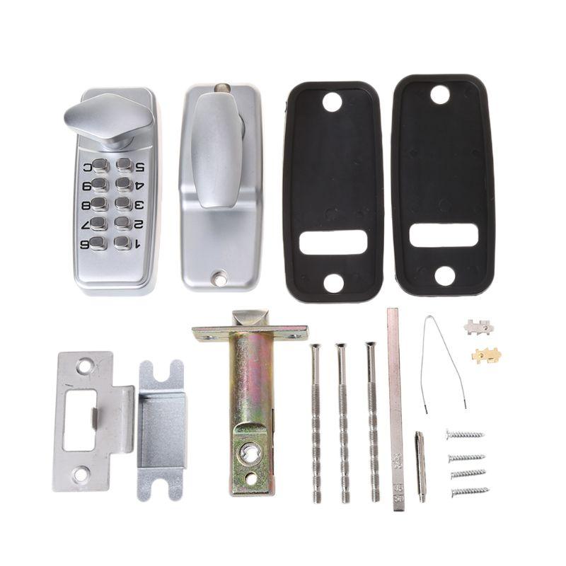 Zinc Alloy Miniature Digital Push Button Mechanical Lock With Combination Code  Zinc Alloy Miniature Digital Push Button Mechanical Lock With Combination Code