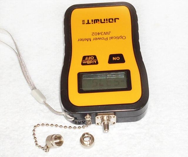 Jw3402 mini mais barato de laser de fibra óptica medidor de energia de fibra óptica medidor de energia tester frete grátis