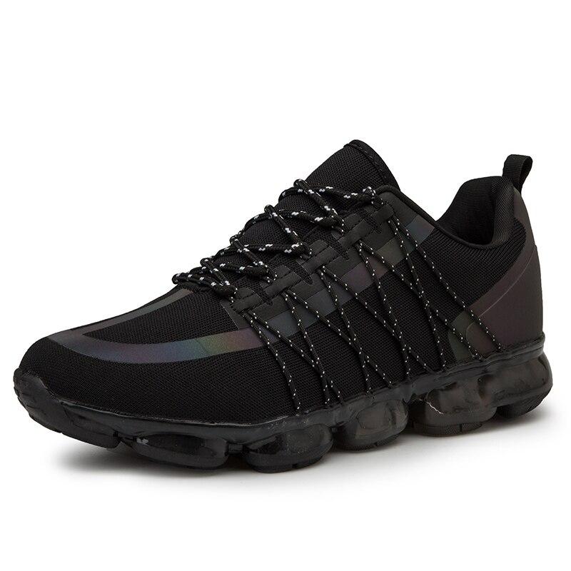 2019 nouveauté hommes chaussures de Tennis Style populaire en plein air Jogging baskets à lacets hommes chaussures de sport confortable livraison gratuite - 3