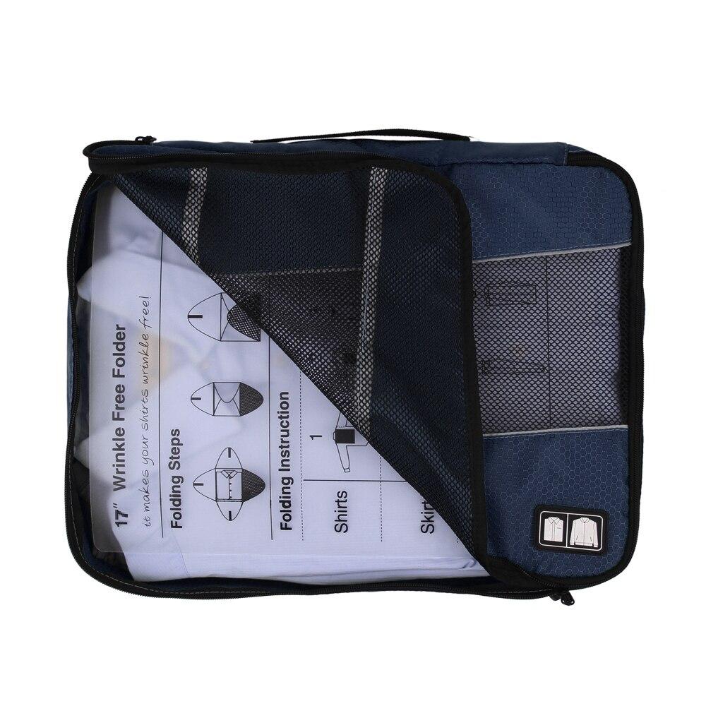 ecosusi Kvinnor eller herr resväskor Clotch förvaringsväska för - Väskor för bagage och resor - Foto 5