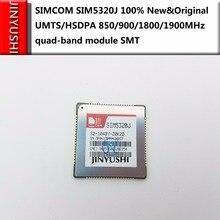 JINYUSHI ل 10 قطعة SIMCOM SIM5320J 100% جديد وأصلي UMTS/HSDPA 850/900/1800/1900 ميجا هرتز وحدة رباعية الموجات SMT في المخزن