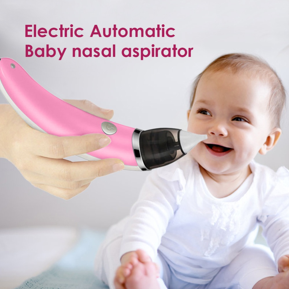 Newborn Baby Nasal Aspirator Electric Safe Hygienic Nose Cleaner Snot Sucker