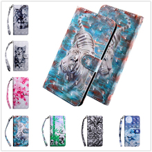 3d Leather Wallet Case for Samsung Galaxy A8 A7 A6 2018 Card Slot Holder Stand Flip Silicone Soft PU Cover A9 Case A6S A530 A750 stylish soft flip open pu case w stand card slot for samsung galaxy s5 deep blue