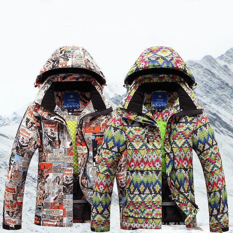 Snow Jacket Women Waterproof Windproof Ski Jacket Women t Snowboard Winter Padded Coat Outdoor Sport Clothes Snowboard Jacket