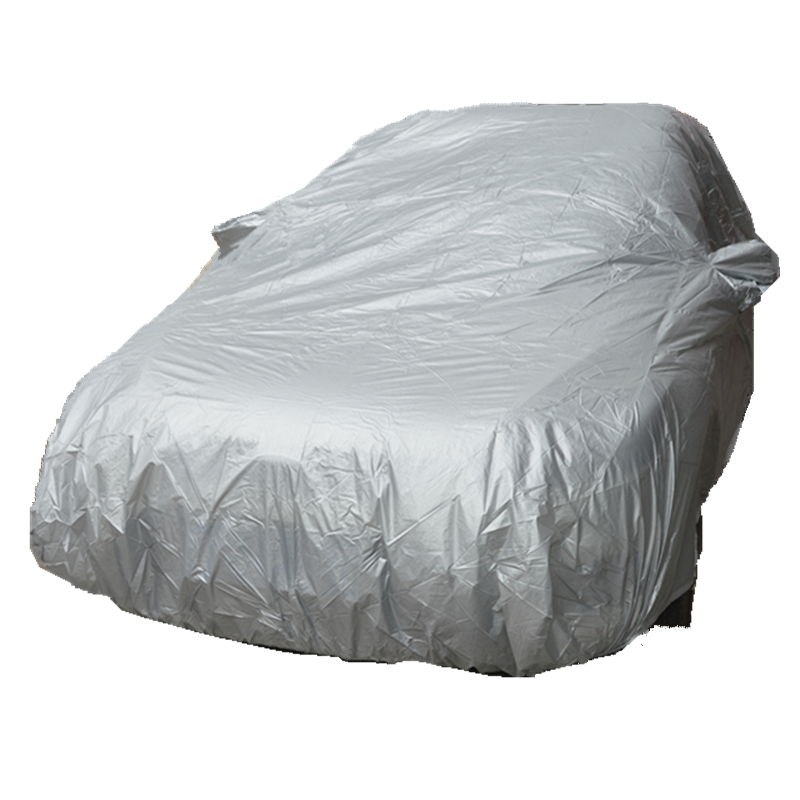 car covers outdoor sun protection cover for car reflector dust rain snow protective suv sedan hatchback full Free Shipping