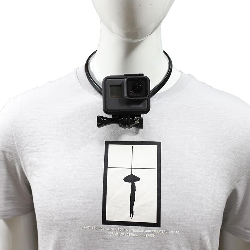 Lanyard Wearable Hang On Neck Holder Stand Mount For Gopro hero 7 6 5 4 3 Eken h9 xiaomi yi 4K SJCAM Action Camera Accessories