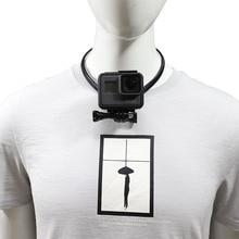 Lanyard Wearable Hang On Neck Holder Stand Mount For Gopro hero 7 6 5 4 3 Eken h9 xiaomi yi 4K SJCAM Action Camera Accessories все цены