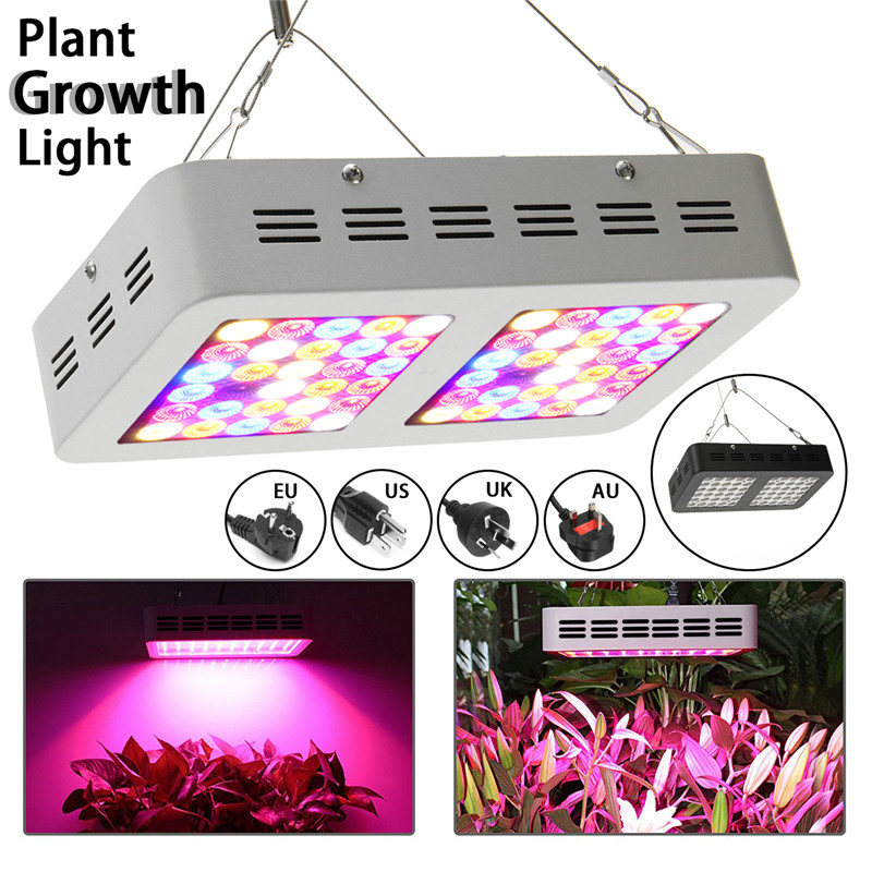 Smuxi 60 LED Grow Light 300W Full Spectrum For Indoor Greenhouse Growth Tent Plants Grow LED Light 110V-240V 200w full spectrum led grow lights led lighting for hydroponic indoor medicinal plants growth and flowering grow tent