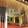 8x3 м 8x4 м светодиодная гирлянда для занавески в виде сосульки  гирлянда для рождественских праздников  гирлянды для свадьбы/Вечеринки/занаве...
