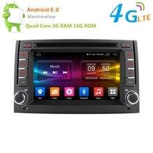 Android 6.0 2G RAM 16G ROM Quad Core Car DVD player for Hyundai H1 2011 / 2012 GPS Player radio Support 4G LTE SIM FM radio