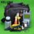 KELUSHI 21 pçs/set FTTH Maleta de Ferramentas De Fibra Óptica com Fibra Cleaver HS-30-70 ~ + 10dbm Medidor de Potência Óptica 10 mW Visual de Falhas Lcator