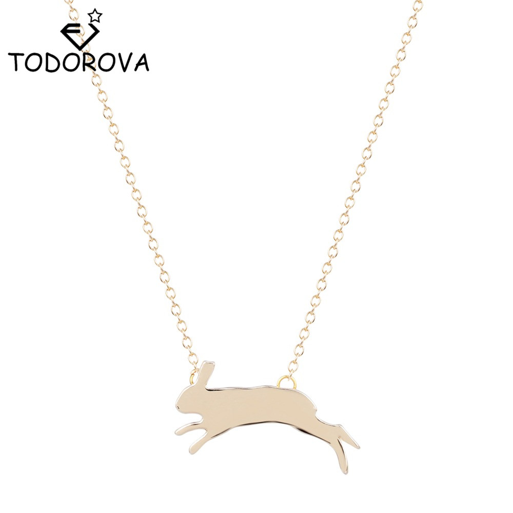 Todorova Running Rabbit Necklace