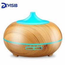 DEVISIB эфирное масло распылитель ароматизатор холодный туман увлажнитель воздуха с безводным автоотключением и 7 цветов светодио дный свет и BPA бесплатно
