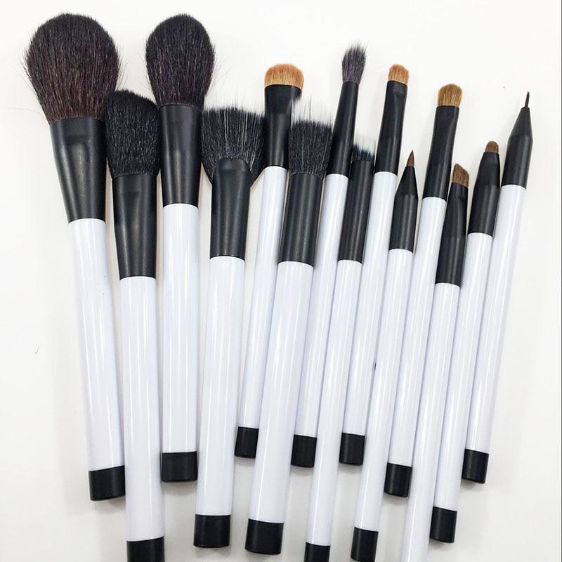 Professional Wool  makeup brush set high quality makeup brushes classic make up brushes kit tools.