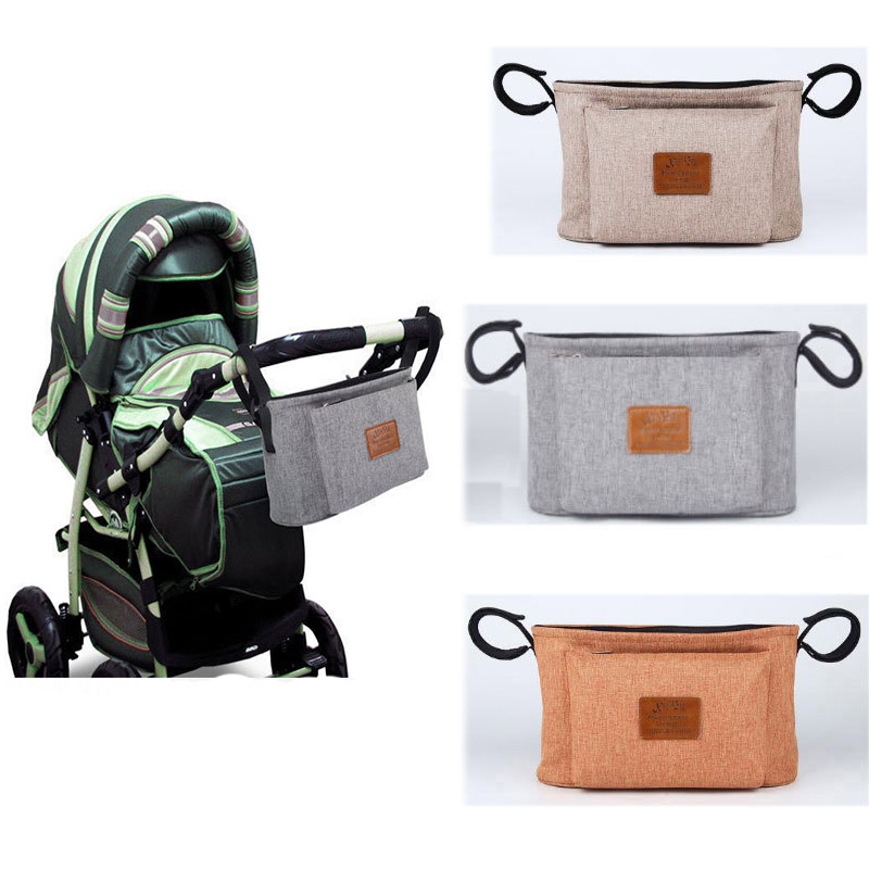 New Baby Diaper Bags Nappy Bags For Stroller Organizer Mummy Diaper Bags Hanging Carriage Pram Buggy Cart Bottle Bags