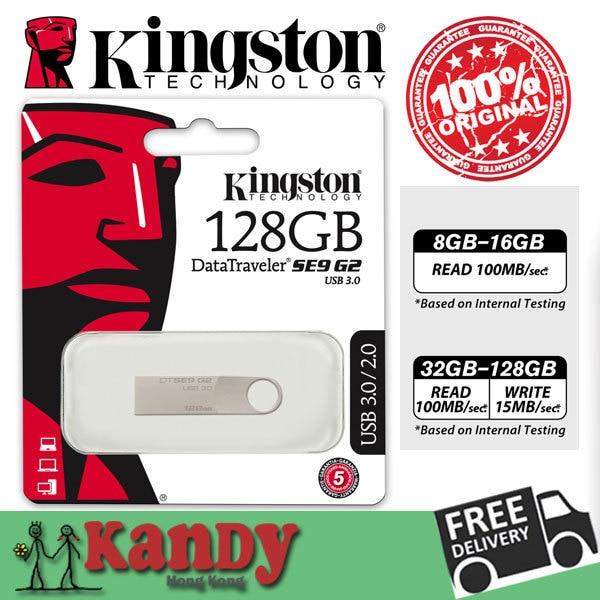 Кингстон dtse9 g2 металл usb 3.0 флэш-накопитель флэш-накопитель 8 ГБ 16 ГБ 32 ГБ 64 ГБ 128 ГБ pendrive стиц usb-палки мини chiavetta usb memoria