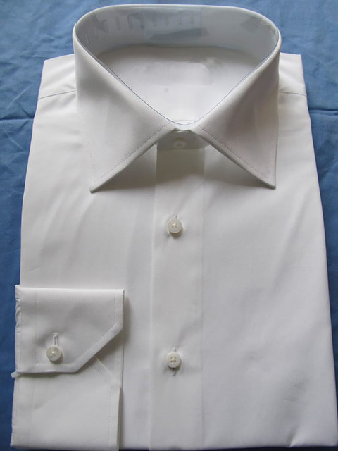 0f89c0bd16d55 White Dress Shirts For Men CUSTOM MADE Long Sleeve White Shirt Men ...