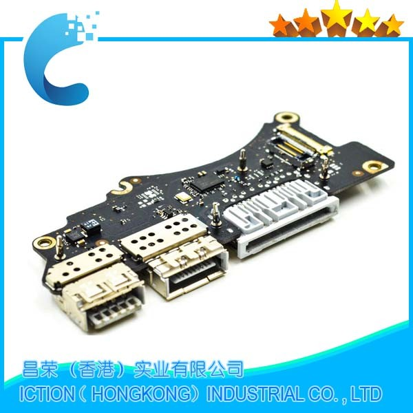 wholesale Original A1398  I/O Board 15'' for MacBook Pro Retina A1398 USB Board late 2013 Mid 2014 661-8312 ME664 original 15 a1398 lcd screen display 2012 2013 2014 for macbook pro retina 15 4 a1398 lcd panel lp154wt1 sjav replacement