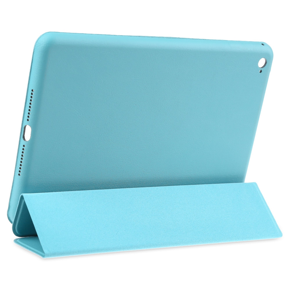 Hot sale PU Leather Smart Ultra Thin Stand Cover PC Back Case for iPad Mini 4 Fe8