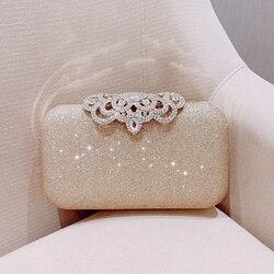 Meloke nova moda lantejoulas esfrega embreagem sacos de noite das mulheres que bling dia embraiagens ouro bolsa casamento feminino mn2019
