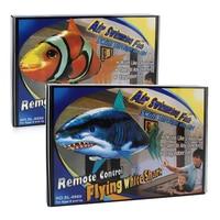 Zhenwei Afstandsbediening Vliegende Vis Helium Shark Clownvissen Elektrische Opblaasbare Speelgoed Air Zwemmer Speelgoed Nemo Ballonnen Speelgoed