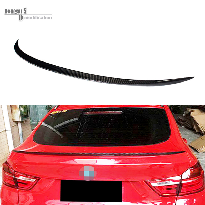 x4 f26 m style rear trunk wings spoiler for bmw x4 f26 2014 + m style rear carbon fiber spoiler for bmw xDrive20i xDrive28i for bmw f20 spoiler ac style bmw 1 series f20 f21 carbon fiber rear roof spoiler 116i 120i 118i m135i 2014 2015 2016 2017