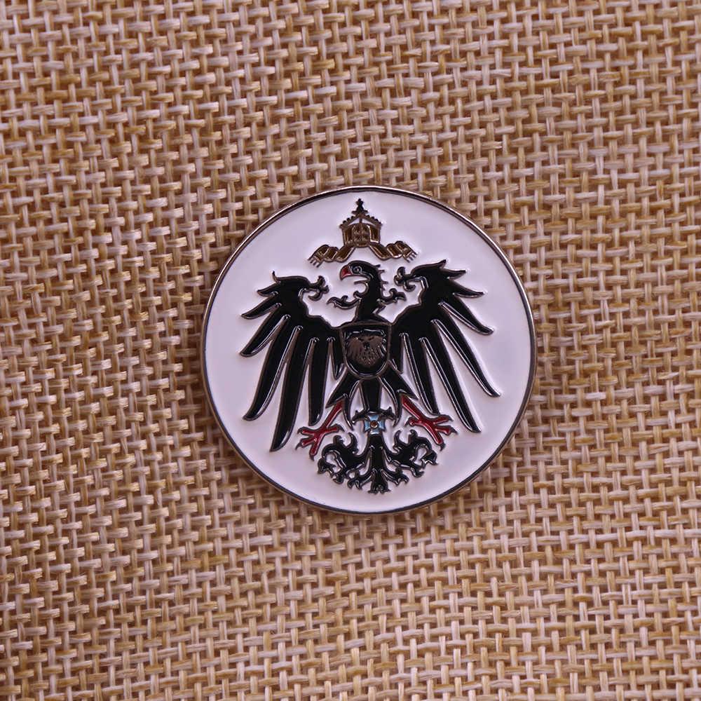 מלחמת העולם השנייה הגרמני ww2 Preussen ממלכת פרוסיה נשר אמייל פין פרוסים תג