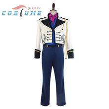 Hot Anime Movie Prince Hans Suit Coat Tuxedo TUX Anime Cartooon Halloween Cosplay Costumes For Men Custom Made