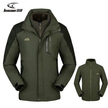 LXIAO mężczyźni jesień zima kurtka wodoodporna odkryty sport ciepłe, odporne na ścieranie, wiatroszczelna Camping Trekking narciarstwo męskie kurtki