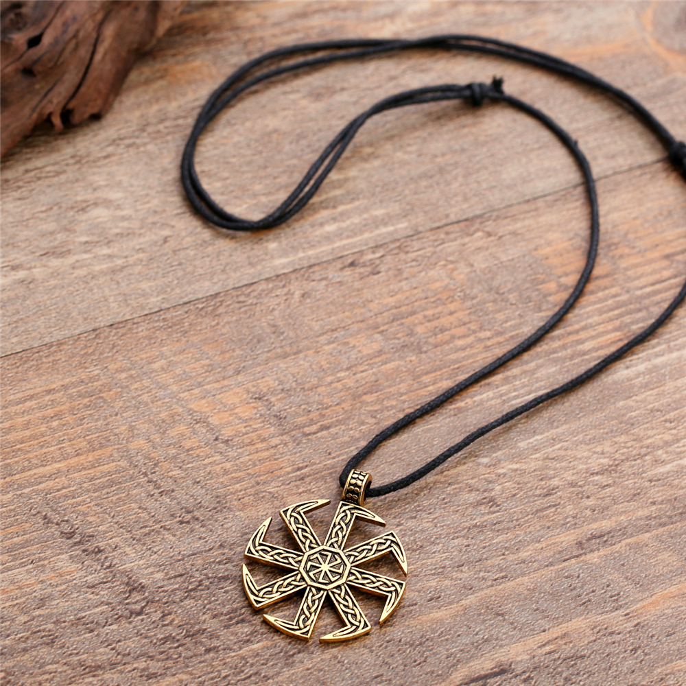 Slawischen Sonne Qtsdrbhcx Kolovrat Skyrim Amulett Pagan Russische Rad hQdrCts
