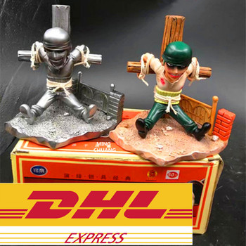 ONE PIECE Statue The Straw Hat Pirates Pirate Hunter Bust Supernova Roronoa Zoro GK Action Figure Collectible Model Toy BOX W127
