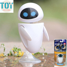 New Pixar Movie Eee-Vah EVE Anime Mini Action Figures Holder Classic Robot Collection with BOX Kids Toys Gift Brinquedos