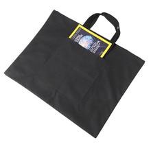 Продажа Черный Портативный холст A2 одного плеча рисунок эскиз Совета хранения файлов мешок школы Книги по искусству живописи мешок