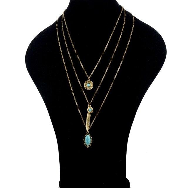Купить chicvie винтажные простые цветочные античные ожерелья с листьями картинки