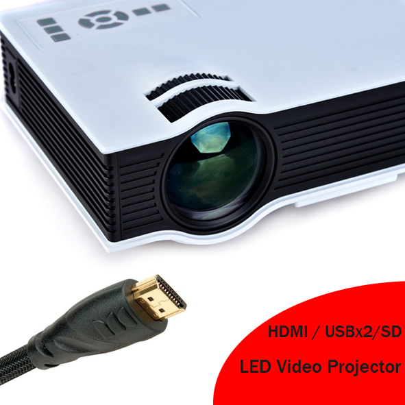 2016 Best Selling HDMI LED Lamp Projector With USB SD Suit For Computer DVD Xbox PS Cheap Cost Mini Beamer Video Proyector new arrival low cost mini led projector portable led lamp beamer with hdmi usb sd vga compatible for dvd computer for home game