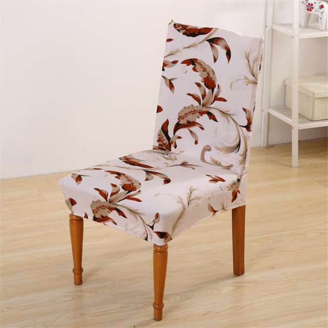 Removable Elastic Stretch Slipcovers Short Dining Room Chair Seat Cover Decore SU