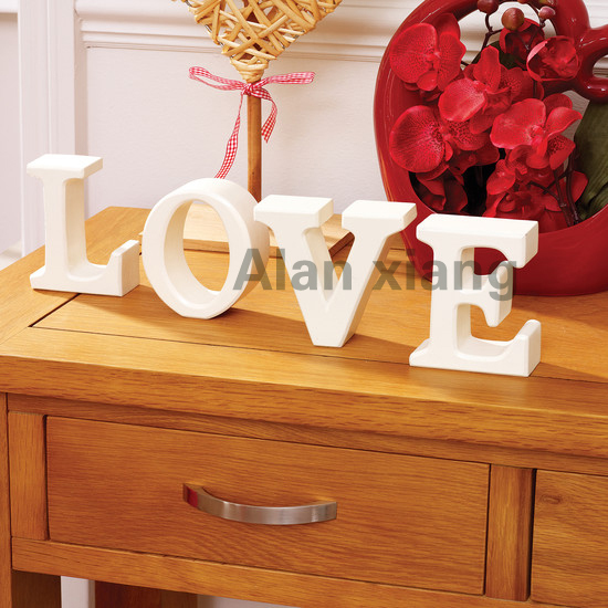 Free Shipping Beach Decor Love Sign Vintage Style Nautical Wooden Letters By Seastyle In Figurines Miniatures From Home Garden On Aliexpress