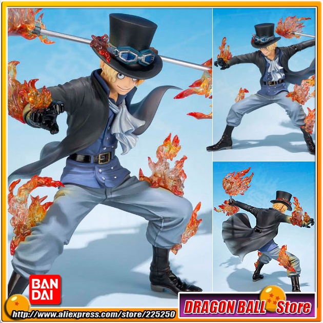 Japan Anime ONE PIECE (100% Original BANDAI) Tamashii Nations Figuarts Zero Toy Figure - Sabo (5th Anniversary Edition) japan anime one piece 100% original bandai tamashii nations figuarts zero figure violet